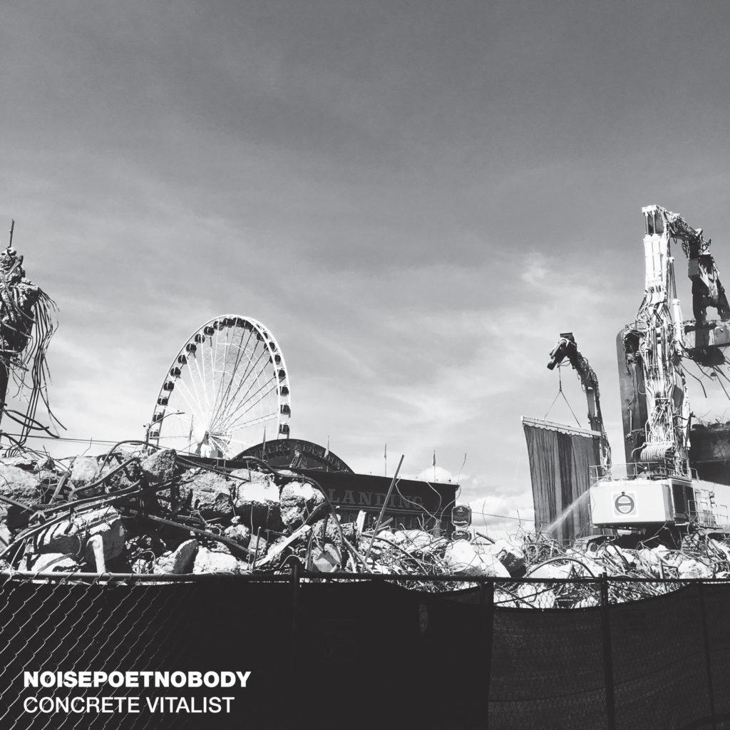Noisepoetnobody - Concrete Vitalist - SCRY14